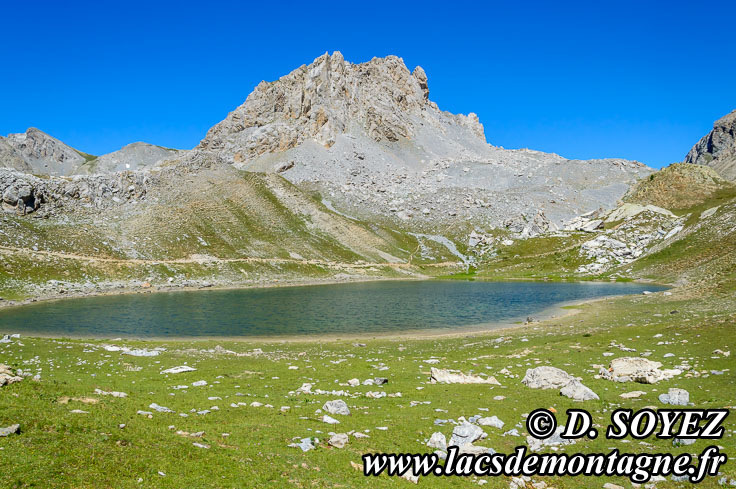 Photo n°201207030 Lago di Roburent (2330m) Cliché Dominique SOYEZ Copyright Reproduction interdite sans autorisation