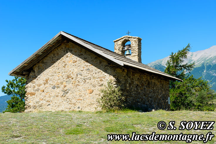 Photo n°201907091 Chapelle Saint-Roch (1065m) (Embrunais, Hautes-Alpes) Cliché Serge SOYEZ Copyright Reproduction interdite sans autorisation