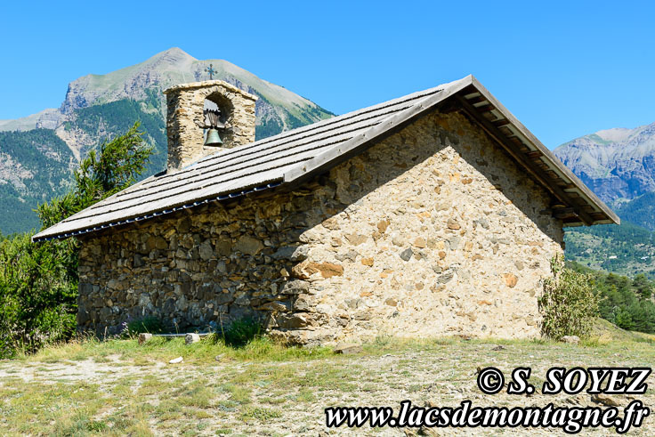 Photo n°201907092 Chapelle Saint-Roch (1065m) (Embrunais, Hautes-Alpes) Cliché Serge SOYEZ Copyright Reproduction interdite sans autorisation