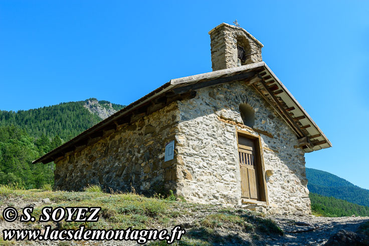 Photo n°201907100 Chapelle Saint-Roch (1065m) (Embrunais, Hautes-Alpes) Cliché Serge SOYEZ Copyright Reproduction interdite sans autorisation