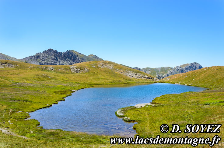 Photo n°201507138 Lac de Néal (2453m) (Queyras, Hautes-Alpes) Cliché Dominique SOYEZ Copyright Reproduction interdite sans autorisation