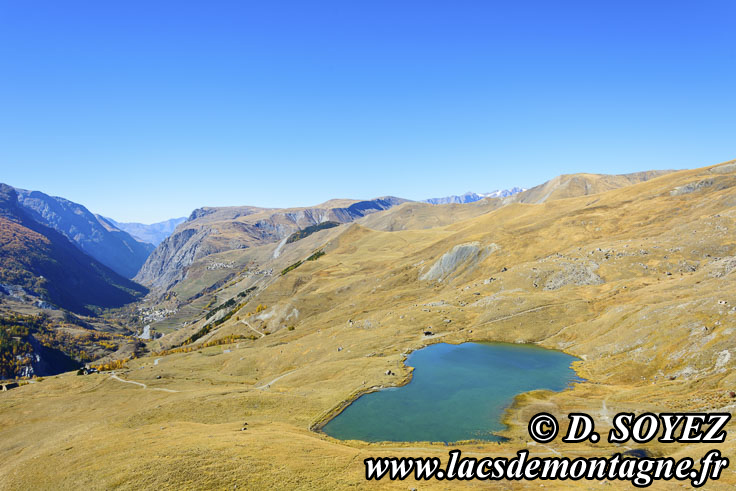 Photo n°201710022 Lac du Pontet (1982m) (Villar-d'Arêne, Grandes Rousses, Hautes-Alpes) Cliché Dominique SOYEZ Copyright Reproduction interdite sans autorisation