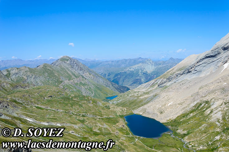 Photo n°201507015 Lac Foréant (2618m) (Queyras, Hautes-Alpes) Cliché Dominique SOYEZ Copyright Reproduction interdite sans autorisation
