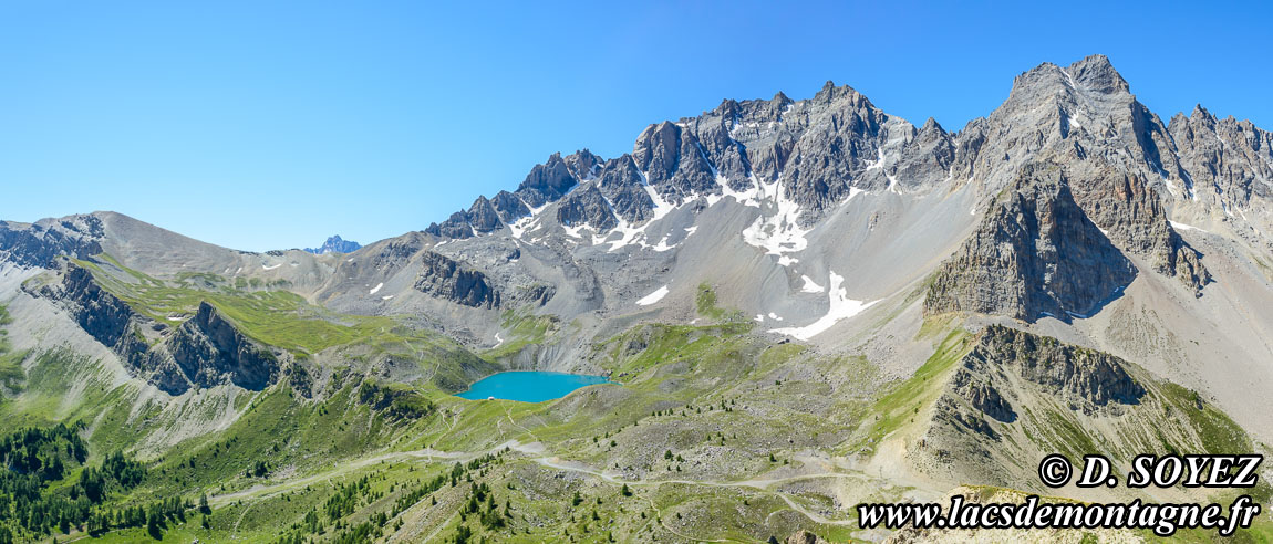 Photo n°201707083 Lac Sainte-Anne (2415m) (Queyras, Hautes-Alpes) Cliché Dominique SOYEZ Copyright Reproduction interdite sans autorisation