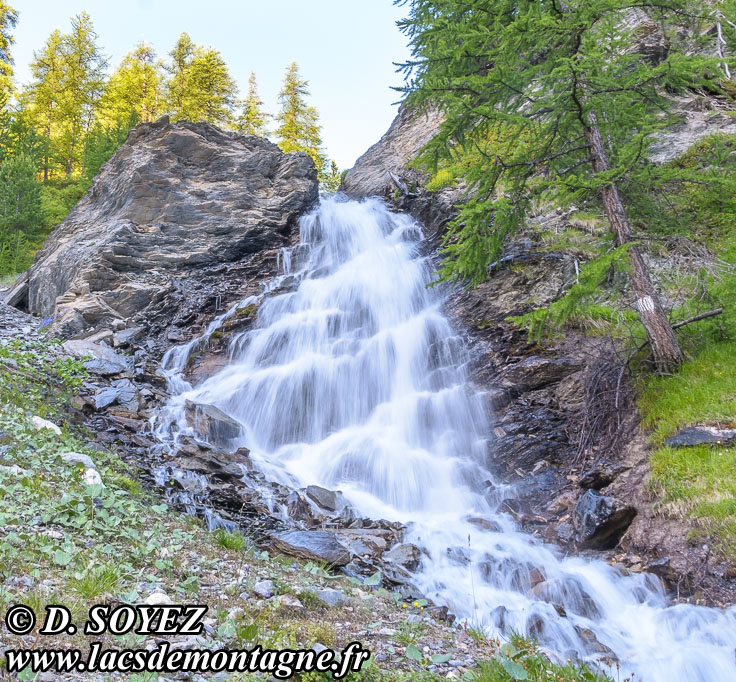 Photo n°201807084 Torrent au Fond de Chaurionde (Queyras, Hautes-Alpes) Cliché Dominique SOYEZ Copyright Reproduction interdite sans autorisation