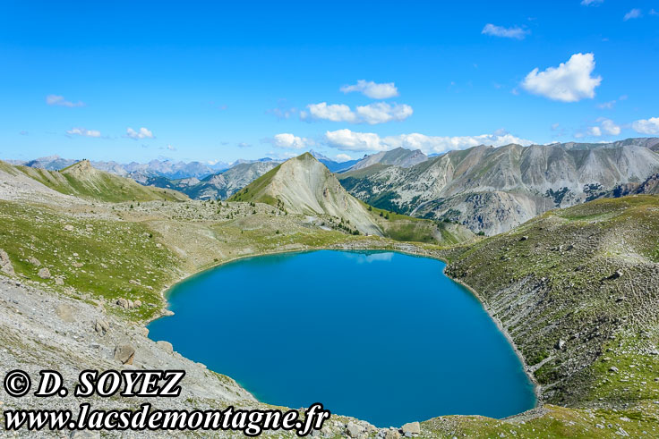 Photo n°201807094 Lac Sainte-Anne (2415m) (Queyras, Hautes-Alpes) Cliché Dominique SOYEZ Copyright Reproduction interdite sans autorisation