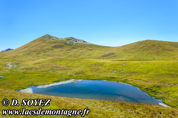 Photo n°201507119 Lac du Cogour (2479m) (Queyras, Hautes-Alpes) Cliché Dominique SOYEZ Copyright Reproduction interdite sans autorisation