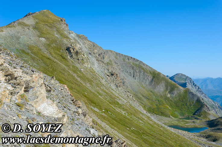 Photo n°201507019 Lacs de l'Eychassier (2815m) (Queyras, Hautes-Alpes) Cliché Dominique SOYEZ Copyright Reproduction interdite sans autorisation