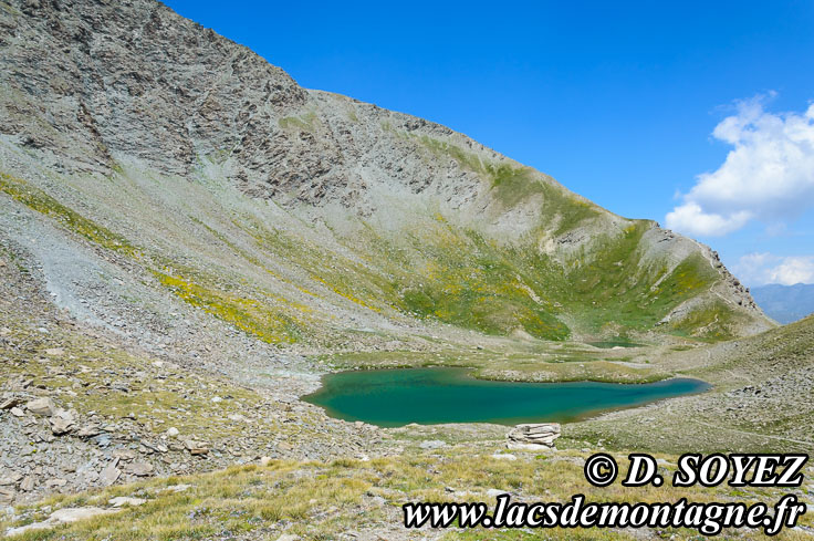 Photo n°201507024 Lacs de l'Eychassier (2815m) (Queyras, Hautes-Alpes) Cliché Dominique SOYEZ Copyright Reproduction interdite sans autorisation