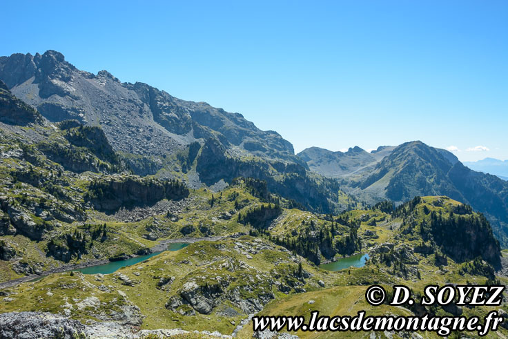 Photo n°201708018 Lac Longet (2027m) (Belledonne, Isère) Cliché Dominique SOYEZ Copyright Reproduction interdite sans autorisation