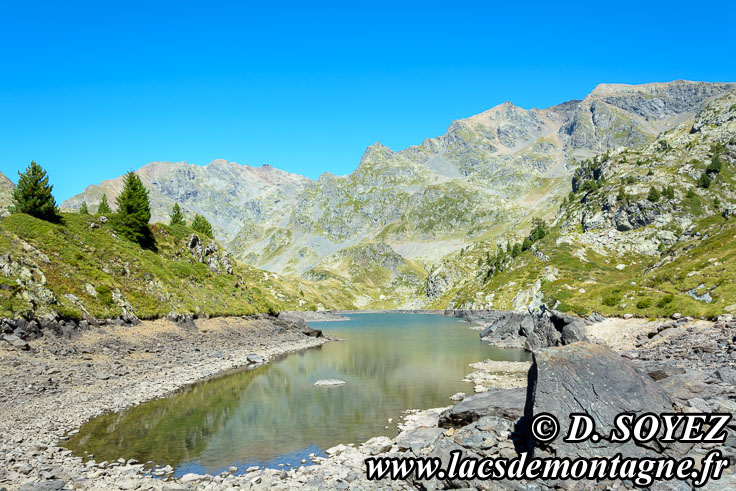 Photo n°201708021 Lac Longet (2027m) (Belledonne, Isère) Cliché Dominique SOYEZ Copyright Reproduction interdite sans autorisation