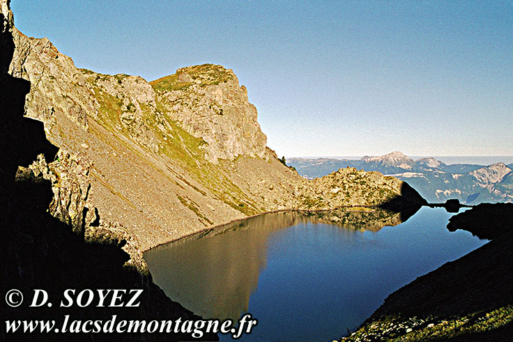 Photo n°20000903NHD_art Lac du Crozet (1974m) (Belledonne, Isère) Cliché Dominique SOYEZ Copyright Reproduction interdite sans autorisation