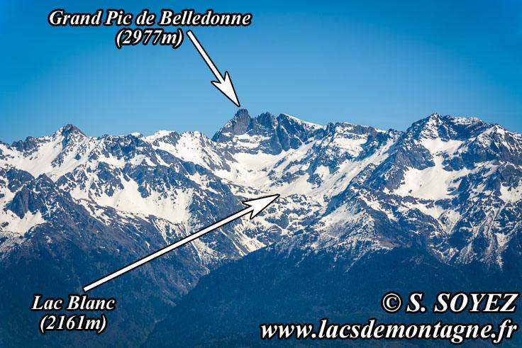 Photo n°201704010 Lac Blanc (2161m) (Belledonne) (Isère) Cliché Serge SOYEZ Copyright Reproduction interdite sans autorisation
