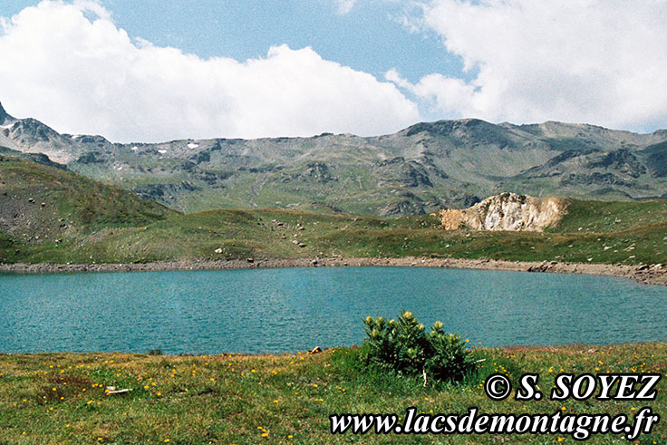 Photo n°19890706ter Lac Sainte Marguerite (Rond) (2508m) (Mont Thabor, Savoie) Cliché Serge SOYEZ Copyright Reproduction interdite sans autorisation